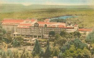 Albertype Buck Hills Falls Pennsylvania Inn hand colored 1920s Postcard 21-984