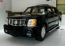 Welly We0386 Cadillac Escalade EXT 2002 Black 1 24 Modellino Die Cast Model
