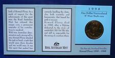 1998 LORD HOWARD FLOREY BIRTH CENTENARY One Dollar Uncirculated Coin ( S )