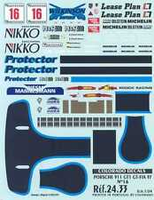 Colorado Decals 1/24 PORSCHE 911 GT1 WILKINSON #16