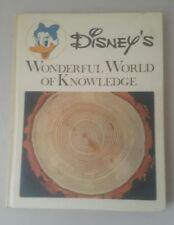 Disney's Wonderful World of Knowledge #2 Natural Wonders 1973 HB Book Disney