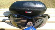 Mens Maxx HD Sunglasses Domain HDP black x-loop case polarized womens smoke