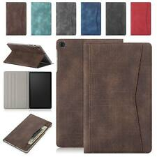 """For Samsung Galaxy Tab A 10.1"""" SM-T510 T515 Case Leather Cloth Wallet Flip Cover"""