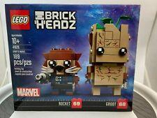 LEGO BrickHeadz Marvel Avengers Infinity Wars Rocket 69 Groot 68 # 41626
