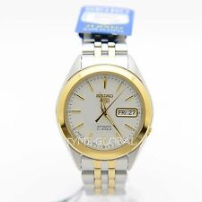 Seiko 5 SNKL24J1 Analog White Dial Stainless Steel Automatic Casual Men's Watch