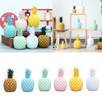 Novelty Piggy Bank Resin Pineapple Money Box Home Holiday Decorative Crafts