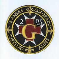 """G CO 2-135th AVN REGT """"KANSAS-COLORADO""""  patch"""