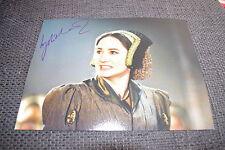 """Lydia Leonard signed autographe sur 20x28 """"da vinci's demon queen"""" photo inperson"""