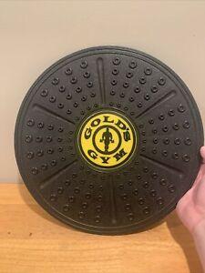 "Golds Gym Balance Board Core Trainer Platform Fitness Equipment 14"""