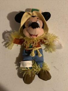 Disney MouseToys - Mini Bean Bag Plush - Scarecrow Mickey - Wizard Oz