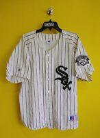 CHICAGO WHITE SOX VTG RUSSELL ATHLETIC MLB BASEBALL JERSEY MEN- XL