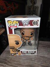 Funko Pop The Rock Wwe Wrestling Vinyl Figure #03