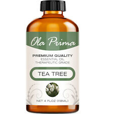 Tea Tree Essential Oil - Multiple Sizes - 100% Pure - Amber Bottle