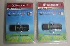 2 TRANSCEND USB Card Reader TS-RDP5K