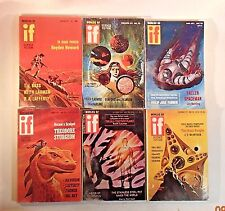 Worlds Of IF Science Fiction Magazine 1971 Full year of all 6 issues!