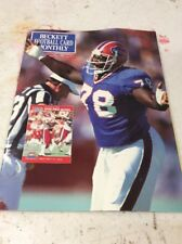 Beckett Football Magazine Monthly Price Guide Bruce Smith May 1991