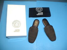 Mens Brown Gianni Versace Slippers Italy Size 43 (US 10)