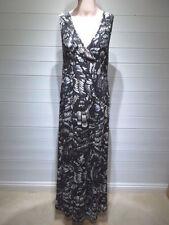 TU Geometric Sleeveless Maxi Dresses for Women
