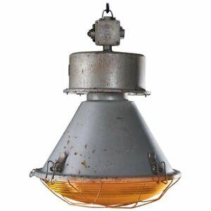 LOFT Lampe Glocke Alt Gastro Industrie Industrielampe Beleuchtung Restaurant WOW