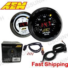 """Genuine Aem 30-4110 Wideband Gauge Controller Afr O2 Air Fuel Ratio 2 1/16"""" 52mm"""