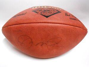 UDA Joe Montana Upper Deck Signed Auto Autographed Game Football Ball SF 49ers
