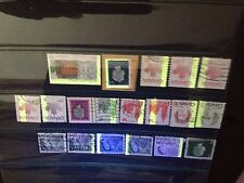 19 Used Canada Tagging Error Stamps (Lot #8222)
