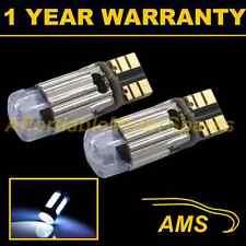 2x W5W T10 501 Errore Canbus libero Xeno Bianco CREE LED Luce Laterale Lampadine sl102504