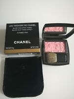 LES TISSAGES DE CHANEL BLUSH EFFET TWEED