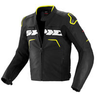 Spidi Evo Rider Motorcycle Jacket Black / Yellow 599123 Size XL