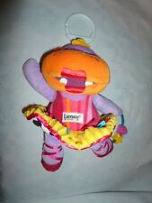 "Lamaze Hippopotamus Baby Rattle 10"" Plush Soft Toy Stuffed Animal"