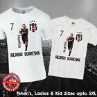 Besiktas Ricardo Quaresma Football Legend T-shirt Mens Ladies Kids Babies Brazil