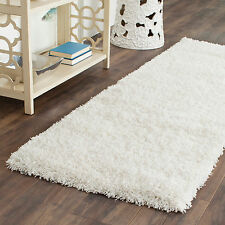Safavieh California Cozy Plush Milky White Shag Rug (2'3 x 5')