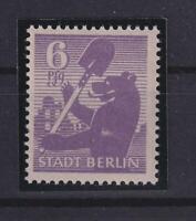 SBZ 2 Ab wbz 6 Pfg. Farbe mittelbläulichviolett postfrisch KB Ströh (xs222)