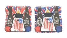 Slide Rite Cornhole Replacement Bags - American (2pc) - Pre Owned