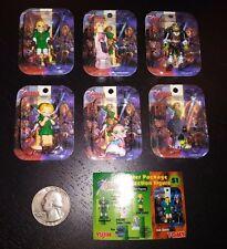 Full Set of The Legend Of Zelda Tomy Figures - Link Poe Ganon Princess Zelda