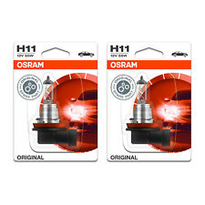 2x Saab 9-7X Genuine Osram Original Low Dip Beam Headlight Bulbs Pair