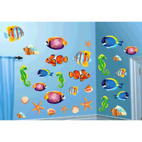 SEA LIFE CUTOUTS Wall Decorations Party Room Luau Ocean Fish Shells Seahorse