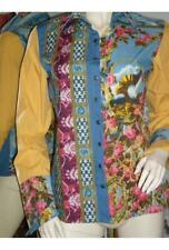 NWT Save the Queen African Cotton Blouse Top M