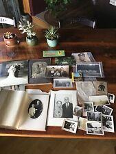 Vintage Ephemera Antique Paper Documents Photos Wedding Portaits Postcards