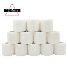 "COMOmed Elastic Cohesive Bandages 2"" Self Adhesive Wrap Tape 5cm 12ROLLS White"