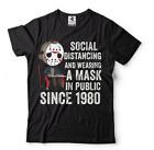 Halloween t-shirt Social Distancing T-shirt Funny Horror Tshirts Sarcastic Shirt