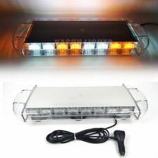 "21.3/"" 60LED Truck Top Strobe Light Bar Emergency Beacon Warning Flash Lamp Amber"