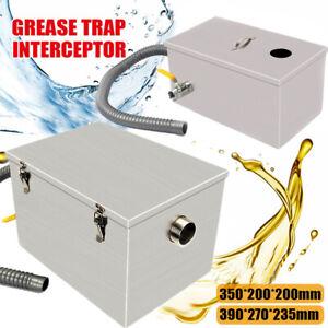 Kitchen Sink Strainer Grease Trap Interceptor Fat Filter Kitchen Wastewater UK