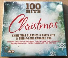 100 Hits Christmas 5x Cd Incl Dvd Box Set NEW & SEALED Various Artists Bowie