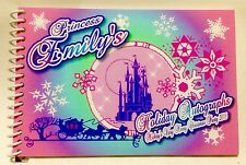 Personalized Disney Princess Autograph Book Mickey's Very Merry Christmas Party