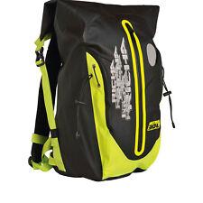 Richa H2O Motorbike Backpack Bike Waterproof Fluorescent Yellow Motorcycle 30L
