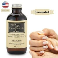 Karma Organic Nail Polish Remover with vitamin E Unscented - Nails Strengthener