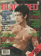 DECEMBER 1987 BLACK BELT MAGAZINE BRUCE LEE KARATE KUNG FU HAPKIDO COMBAT
