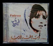 FAIRUZ the days of Fakhr Eddeen LEBANON CD VOIX DE L ORIENT 2000 New (Sealed)