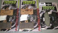 kit pastiglie anteriori + posteriori Triumph Speed Triple 1050 2005 2006 2007